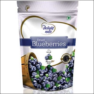 Delight Nuts DRIED BLUEBERRIES 150gms-007 - send Dry Fruits