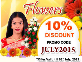 10% Discount on Flowers