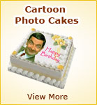 Cartoon Photo Cakes