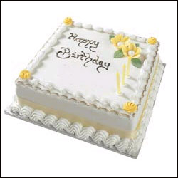 Fancy Square Cake - send General Cakes to India, Hyderabad ...