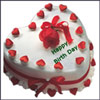 Yummy Heart - cake 2kgs - Click here to View more details about this Product