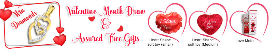 Valentine Month Draw and Assured Free Gifts