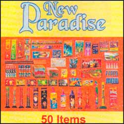 New Paradise Crackers - 50 items - Click here to View more details about this Product