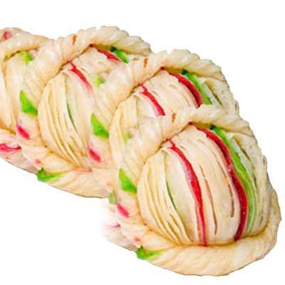 Send Malai Khaja 1kg Murali Krishna Sweets Nellore