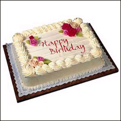 Cool Square Cake send Birthday Cakes 4 kids to India Hyderabad
