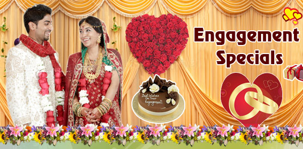 Engagement Special Gifts to Hyderabad