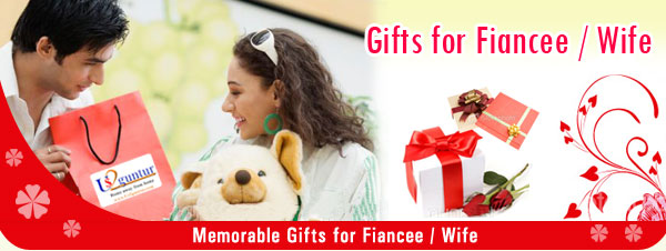 Send Surprise Gifts For Fiancee OR Wife To Hyderabad Bangalore India
