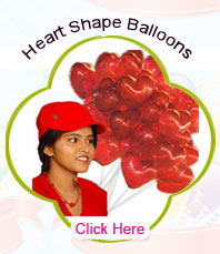 Blown HeartShape Balloons