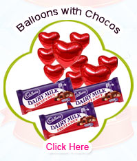 Blown Balloons with Chocos
