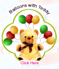 Blown Balloons with Teddy