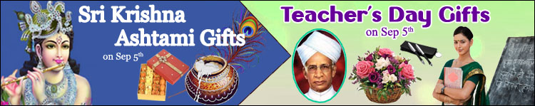 Krishna Ashtami and Teacher's Day Gifts