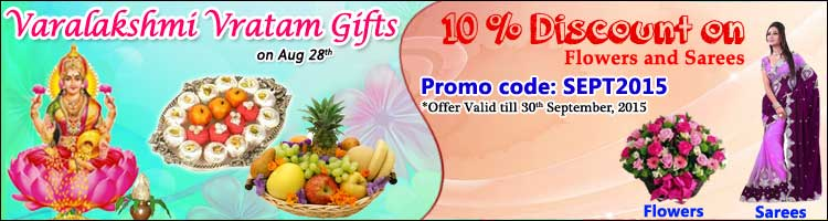 Varalakshmi Vratam and Discount Offer