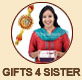 RAKHI RETURN GIFTS 4 SISTER