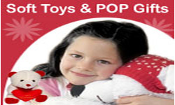SOFT TOYS & POP GIFTS TO INDIA