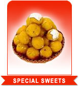 SPECIAL SWEETS to India